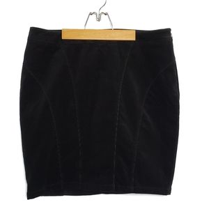 Lane Bryant Corduroy Straight Skirt
